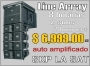 Equipo Line Array Auto amplificado SKP