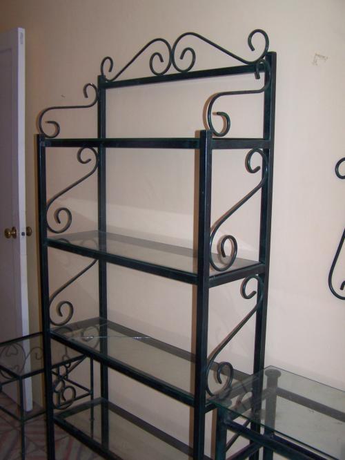 Muebles para tv en hierro forjado for Muebles de cocina de hierro