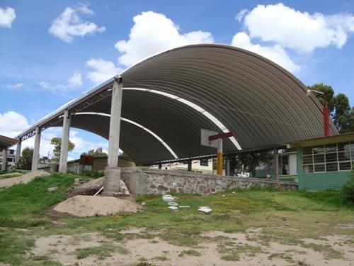 Fotos de Arcotechos, techos sin estructura, cubiertas metalicas 3