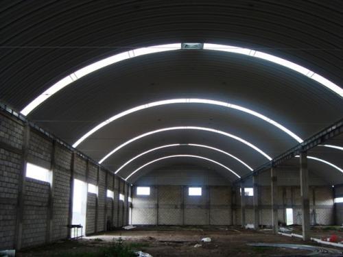 Fotos de Arcotechos, techos sin estructura, cubiertas metalicas 2
