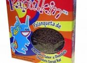 Alegrias de chocolate / palanquetas de amaranto con chocolate