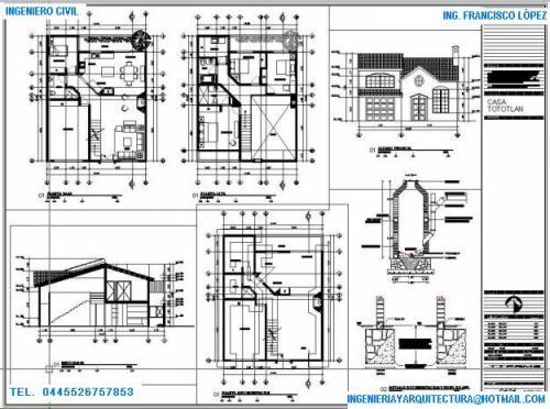 dibujo ejecutivo planos arquitectonicos
