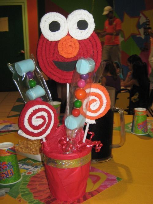 centros de mesa para fiestas infantiles. Ryan de Mesa