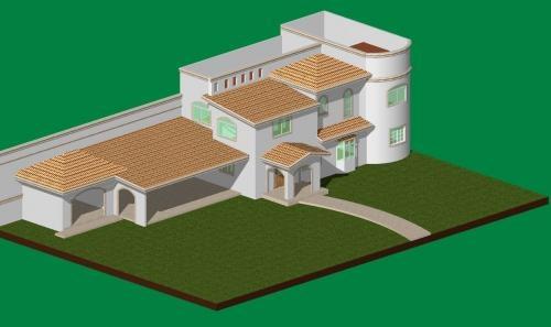 Maquetas de casas planos imagui for Planos de casas modernas mexicanas