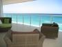 Rento lujoso departamento frente al mar en verano