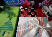 Taller de envolturas de regalos