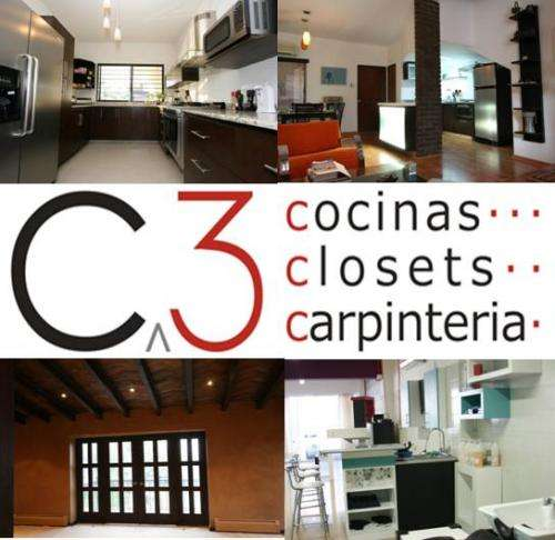 C-3, cocinas, closet`s y carpinteria en general