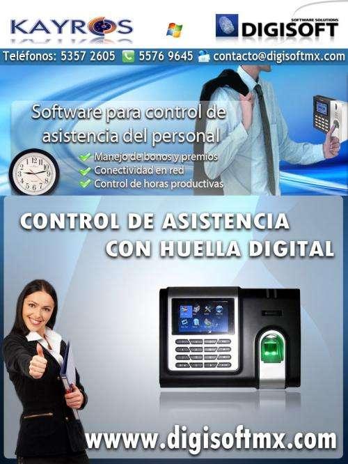 Software para control de asistencia del personal