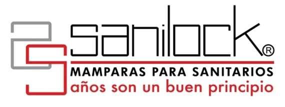Mamparas Para Baño Sanilock:Fotos de Sanilock mamparas sanitarias para baños en Baja California
