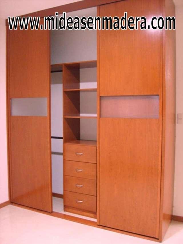 Muebles de closet en madera 20170808044929 for Ideas de closets