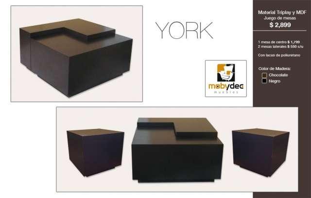 Mesas de centro minimalistas centro de television somos fabricantes en