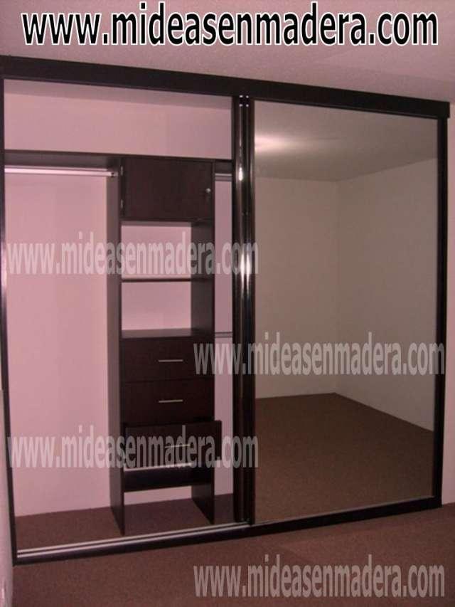 Closets Y Vestidores De Madera Muebles E Ideas En Madera Mexico Df