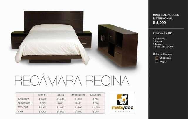 Fotos de recamaras minimalistas directo de fabrica nuevo for Modelos de recamaras king size