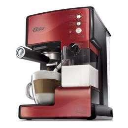 Vendo cafetera espresso prima latte roja oster