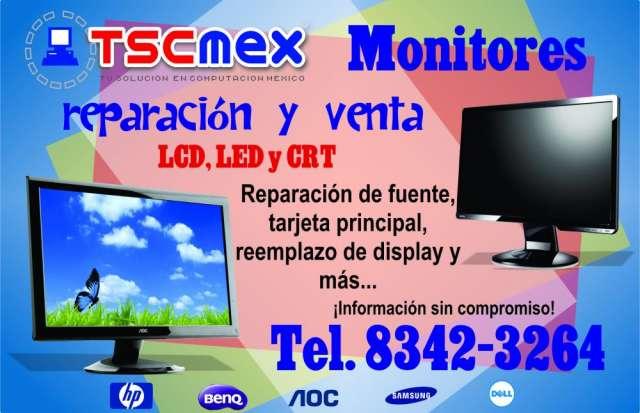 Reparacion a monitores diferentes marcas