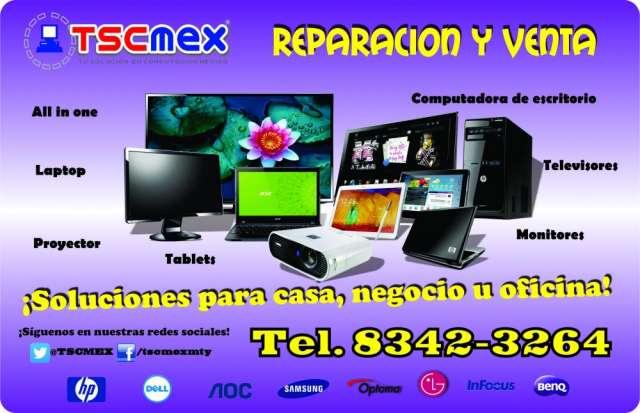 Reparacion y venta de televisores y monitores