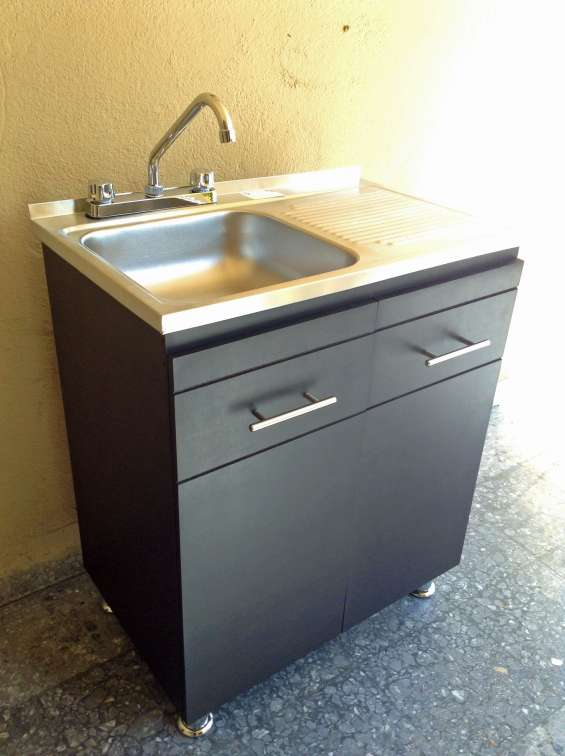 Beautiful Muebles Para Fregadero De Cocina Pictures - Casas: Ideas ...