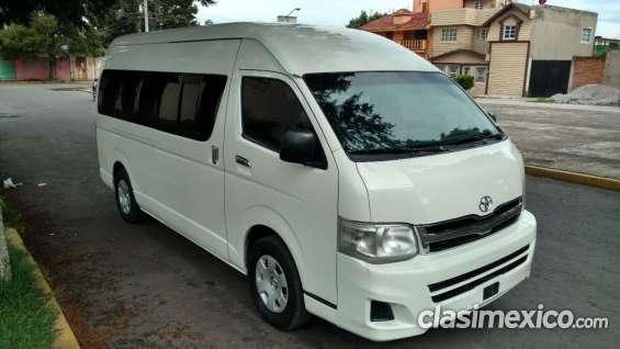 Fantastic Vendo Usada Toyota Hiace 2013 Gl 4p 15 Pasajeros  SUVs  Vans