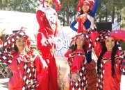 Zanqueros show carnaval fiestas y eventos en ciudad de mexico