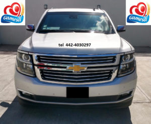 Gamesa vende chevrolet suburvan 2014