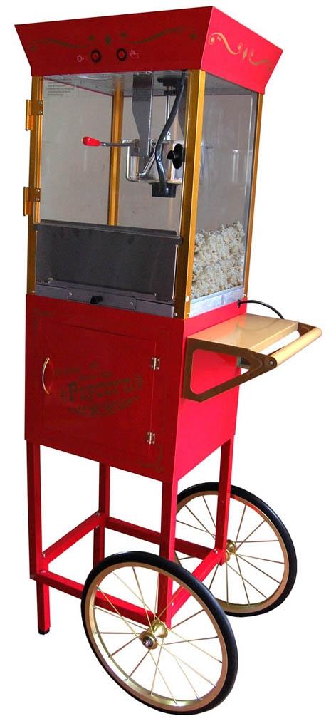 Maquina de palomitas para tus fiestas o eventos publicitarios