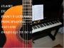 ATENCION!!!! Clases de PIANO y GUITARRA a principiantes