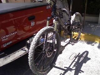Rack porta bicicletas para tiron
