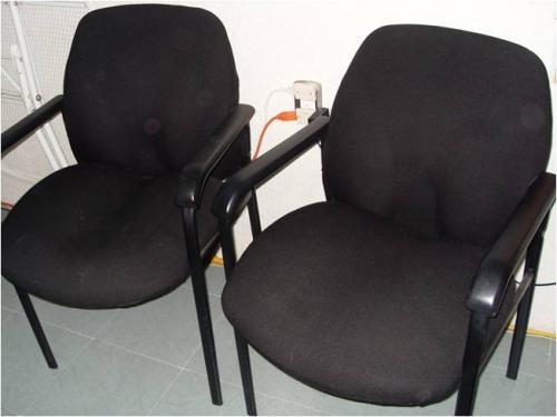 2 sillas de lujo fijas para oficina en Querétaro - Muebles   13571