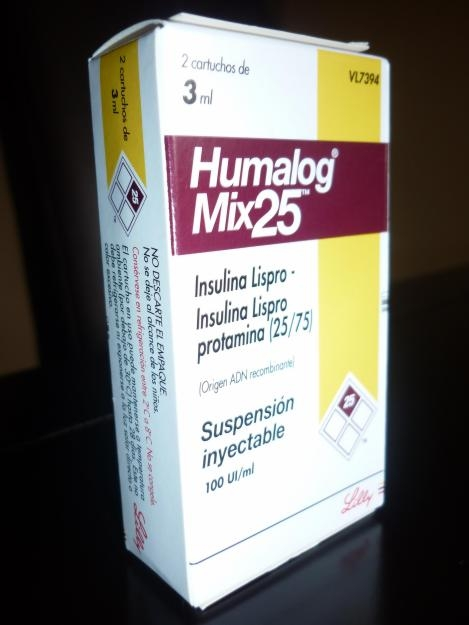 Humalog efectos secundarios insulin