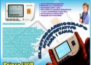 Electrocardiografo portatil de contacto prince 180b
