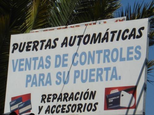 *** puertas automaticas ***