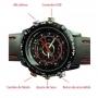 Reloj Cámara Espía Contra Agua Sensor Movimiento Hd Sony 8gb.