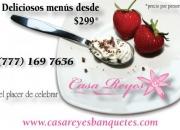 Banquetes Casa Reyes