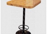 Vendemos mesas tipo periqueras para bar o cafeterias