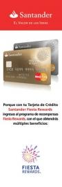 Asesoramiento y tramite Santander Fiesta Rewards
