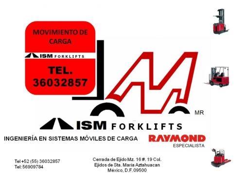 Montacargas renta express tel. 36032857
