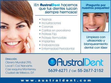 Clinica dental australdent, dentistas narvarte