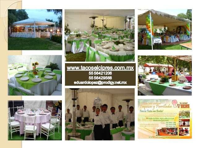 Meseros para bodas, eventos, fiestas, banquetes, a domicilio