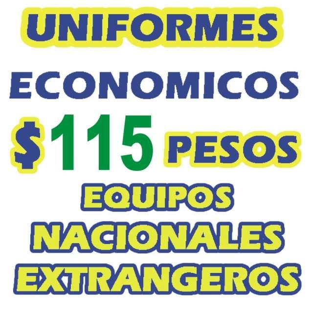 6480e9ee782ed Uniformes de futbol economicos con entrega inmediata!!! desde  115 pesos