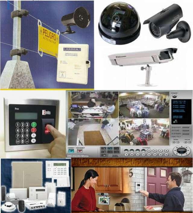 Vigila hogar con alarmas y cctv via internet
