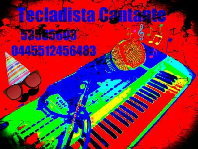 Tecladista cantante para fiestas, eventos