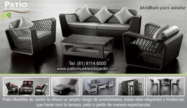 Muebles de jardín, mobiliario para exterior, muebles de terraza ...