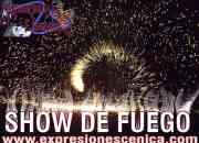 Show de fuego, show bodas show xv años, show para eventos