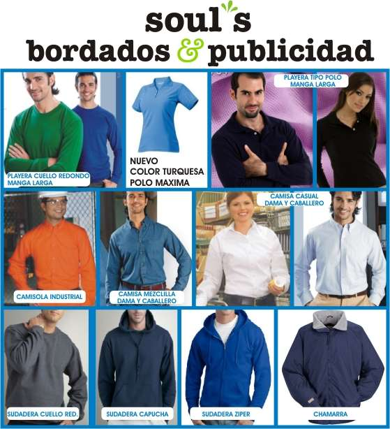 Playeras tipo polo y camisas monterrey bordados e impresiones en ... 6a7cdc8709c7e