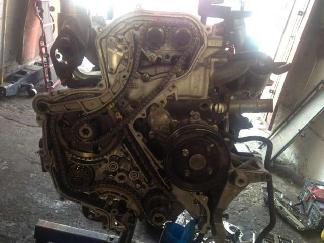 Motor nissan diesel cabstar frontier np300