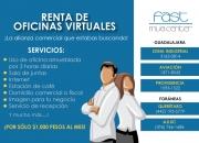 renta tu oficina virtual con domicilio fiscal