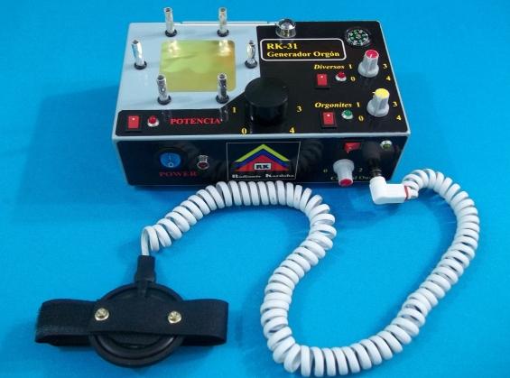 Equipo radionico rk-31 generador orgón