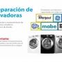 REPARACION DE LAVADORAS ,SECADORAS Y REFRIGERADORES SAMSUNG--MABE--EASY