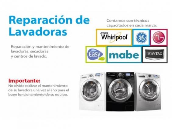 Reparacion de lavadoras y refrigeradores -mabe--easy