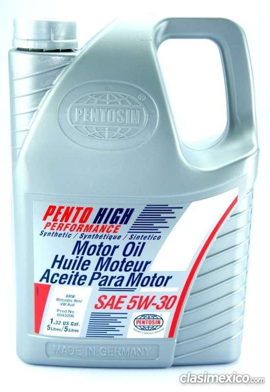 Aceite motor aleman pentosin 5w 30 100% sintético